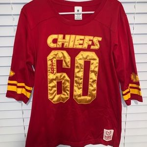 Chiefs 3/4th sleeve top. Victoria's Secret PINK!